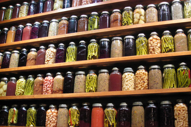 Canned Fruits and Frozen Vegetables