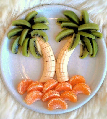 Creative Fruit Art