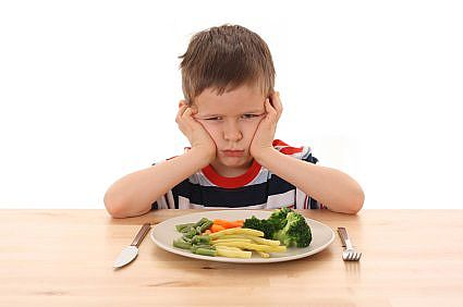 Kids Plates are Full of Broccoli