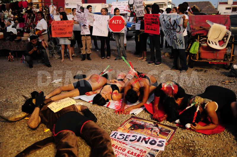 Protest Against Bull Fighting