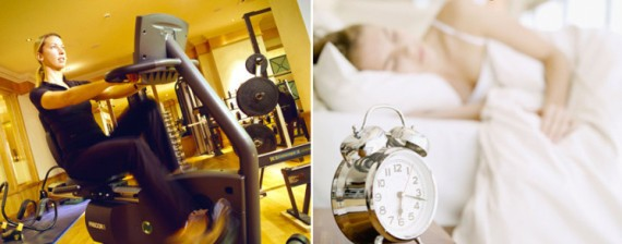 Exercise and Get Enough Sleep