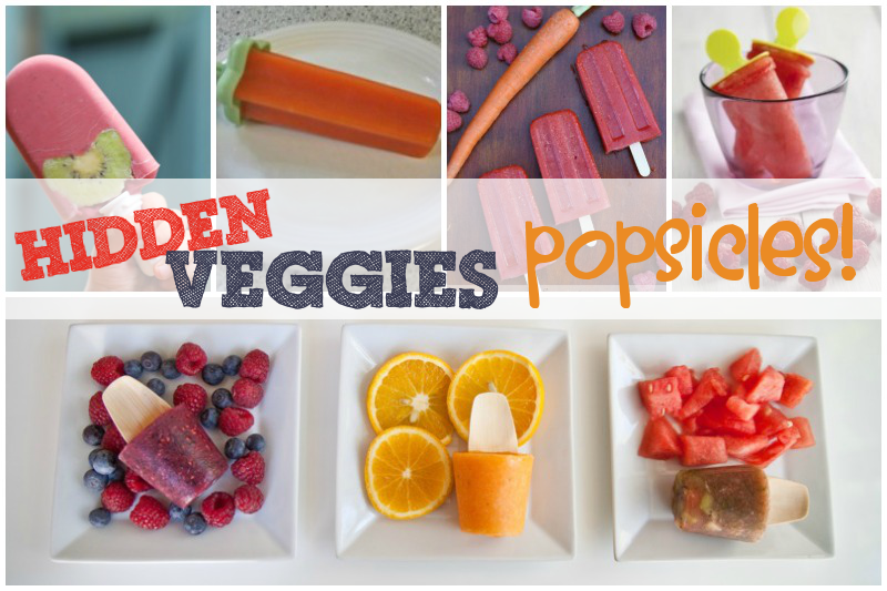 Hidden Veggies Posicles