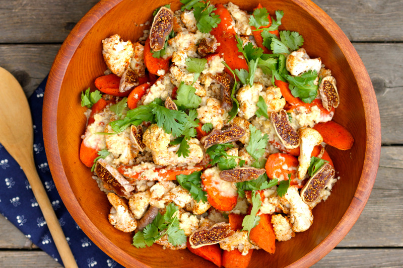 Moroccan-Spiced-Cauliflower-Carrot-Salad
