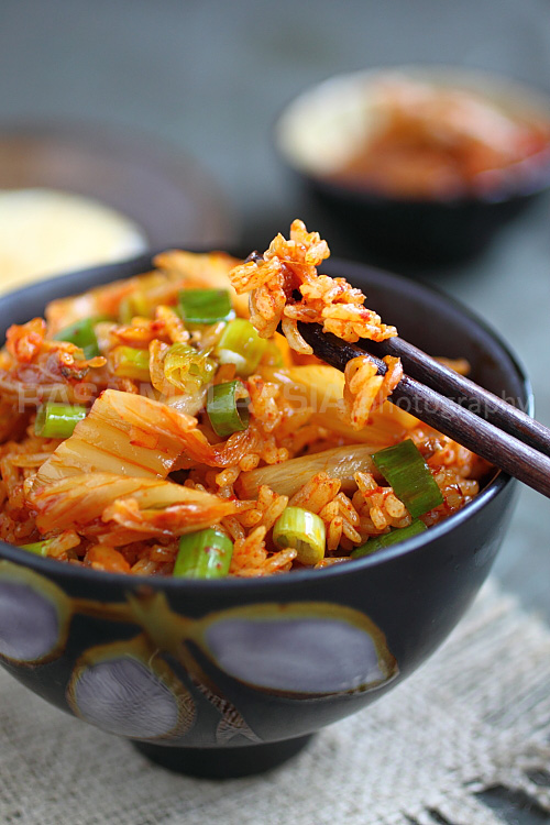 You may also want to add some fried rice or kimchi fried rice. The ...
