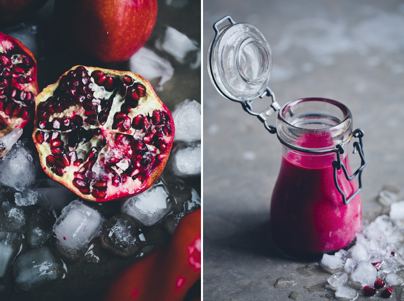 Beetroot and Strawberry Smoothie