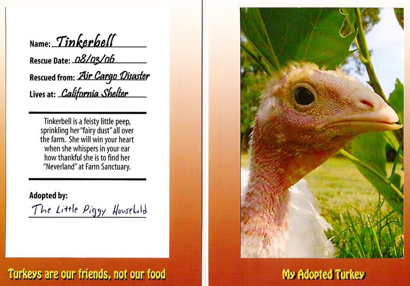 Adopt a Turkey