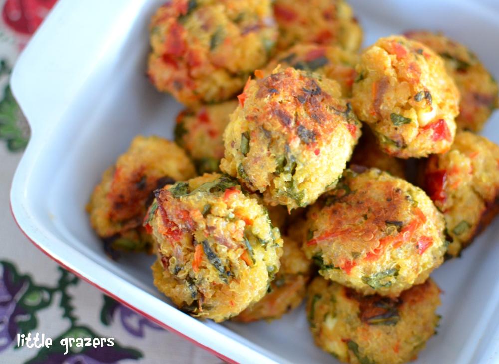 Spinach-quinoa-balls