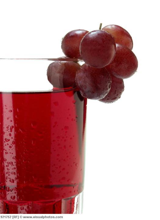 Healthy Red Grape Juice