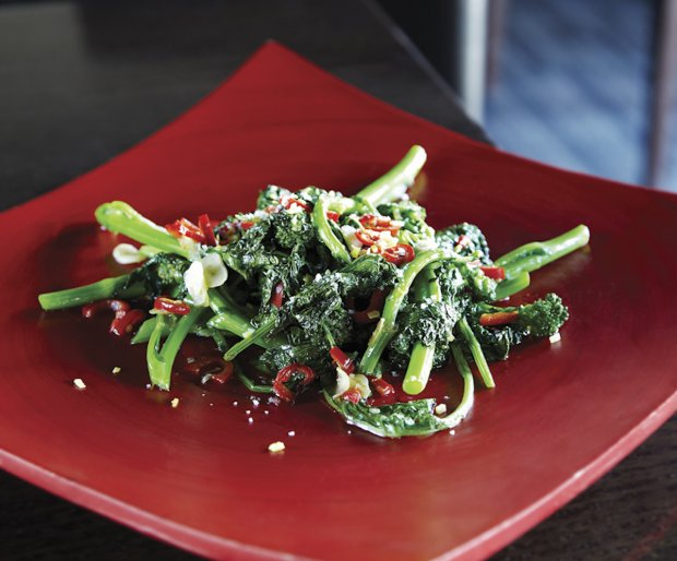Rapini with Lemon and Chili