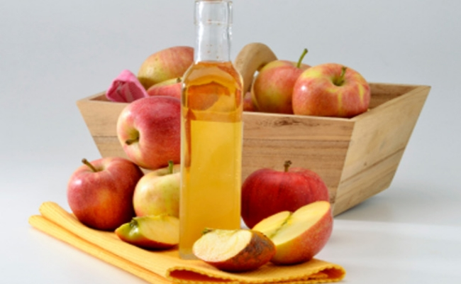 Mix Apple Cider Vinegar with Water