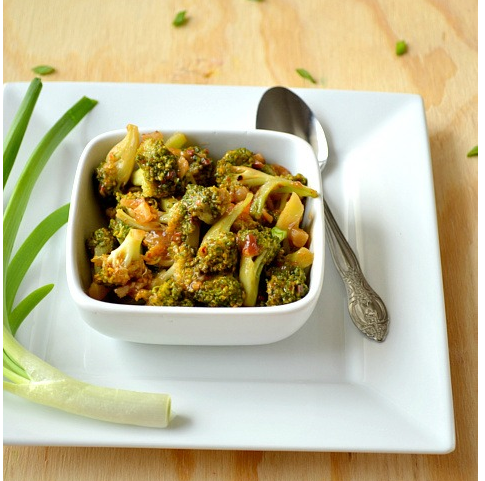 Broccoli with Hot Garlic Sauce