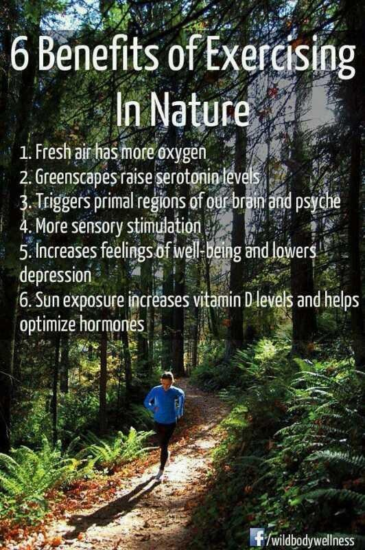 Exercising-in-nature