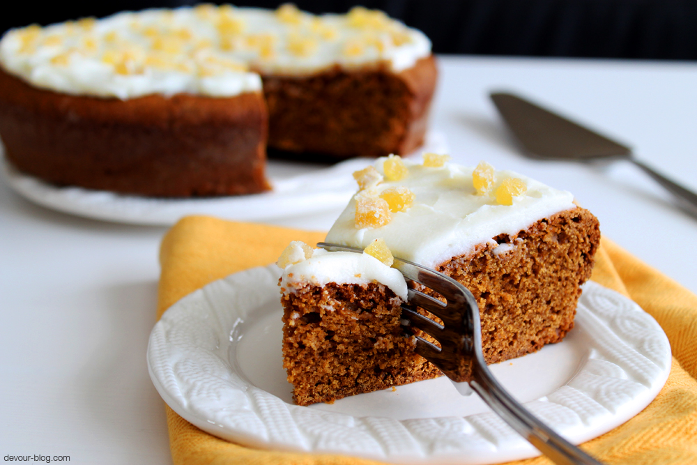 Healthy Gingerbread Recipe Cake