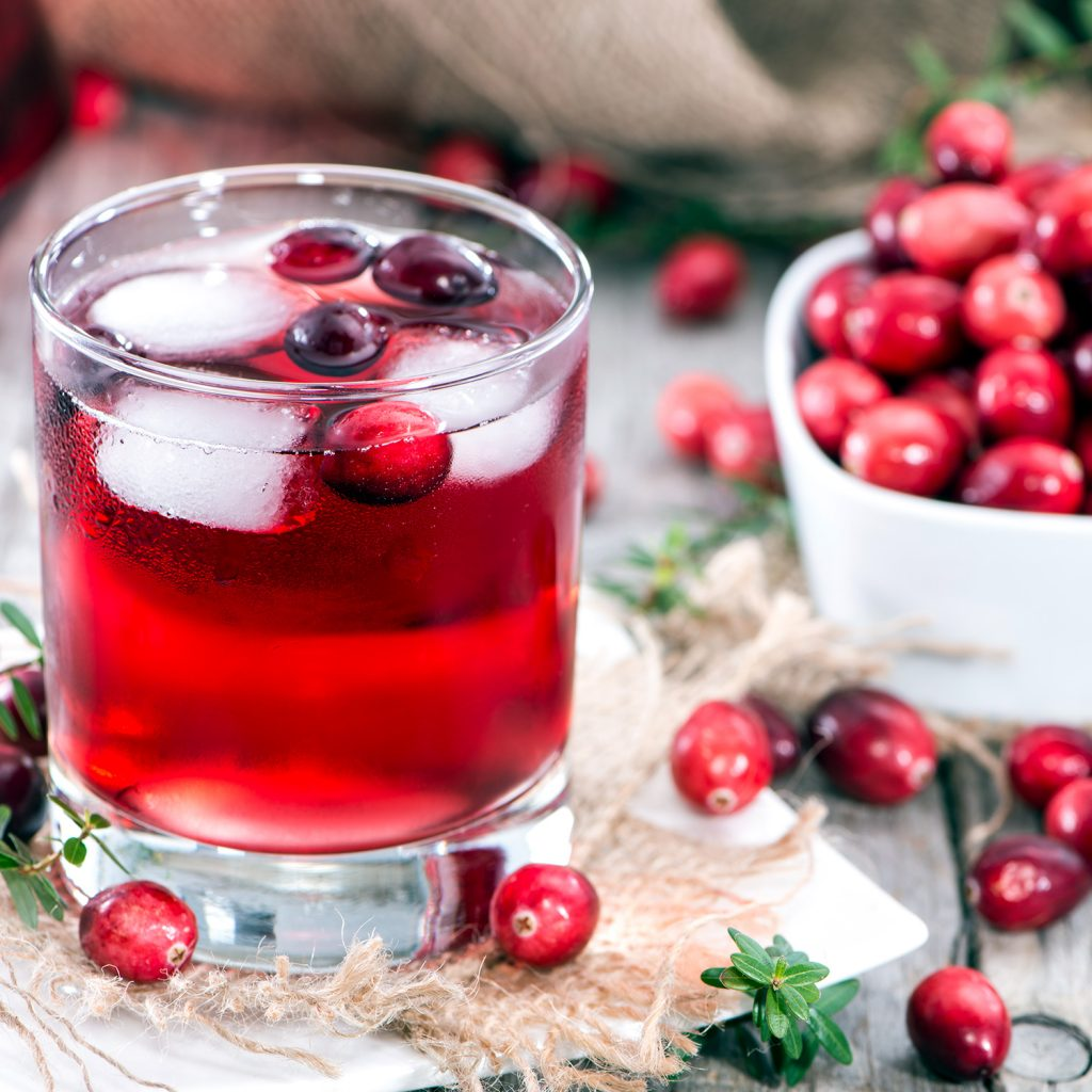 Healthy Cranberries Juices
