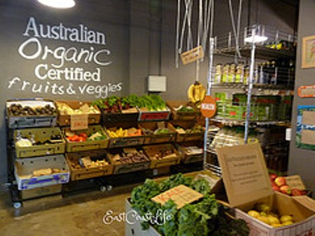 Organic Labeled Foods