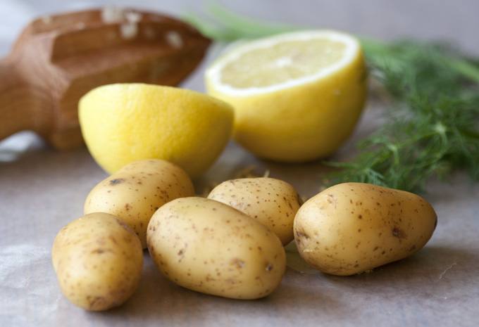 Potato and Lemon Juice