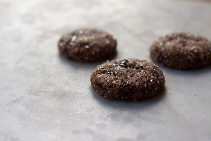 Sparkling Ginger Chip Cookies