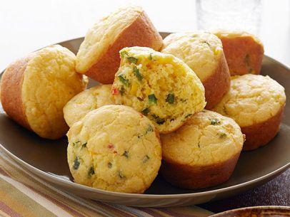 Spicy Cornbread Muffins
