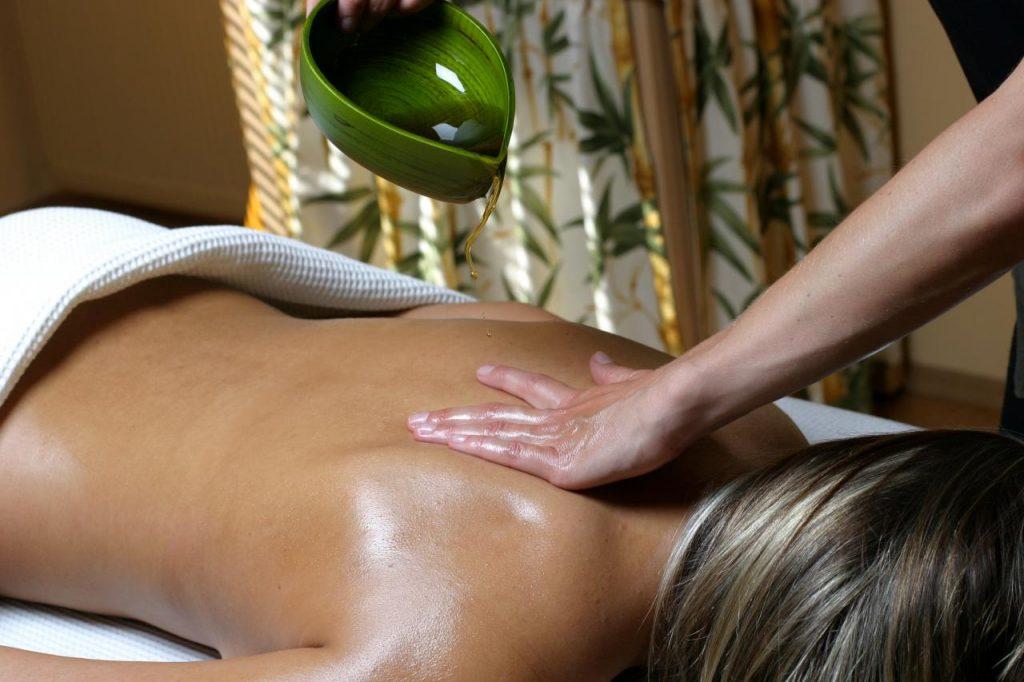Have Hot Oil Massage